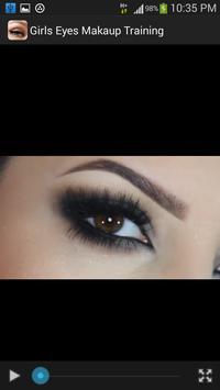 Girls Eyes Makeup Training screenshot 5