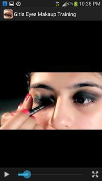 Girls Eyes Makeup Training screenshot 6