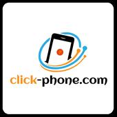 Click Phone icon