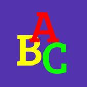 Baby Alphabet ABC Flashcard icon