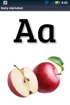 Baby Alphabet ABC Flashcard screenshot 5