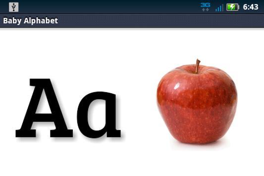 Baby Alphabet ABC Flashcard screenshot 7