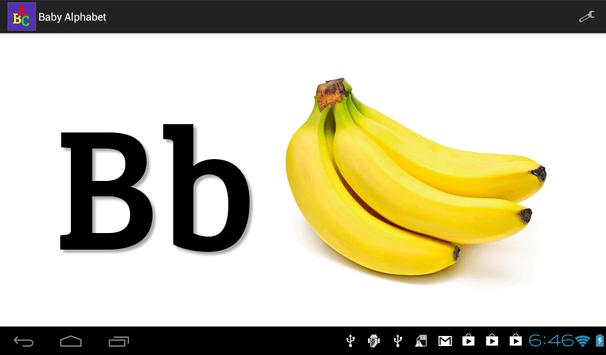 Baby Alphabet ABC Flashcard screenshot 3