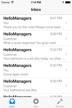 HelloManagers apk screenshot