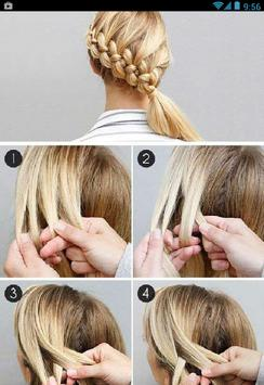 Hairstyles Step by Step New screenshot 7