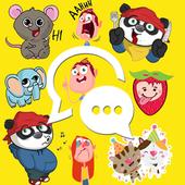 FAMOUS Stickers & Emojis 2500+ icon