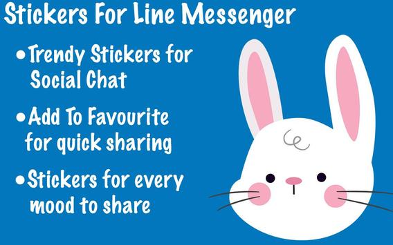 Stickers For Line Messenger screenshot 6