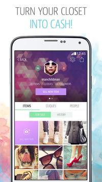 CLIQUE Buy & Sell Fashion screenshot 1