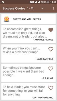 Motivational Quote for Success screenshot 6