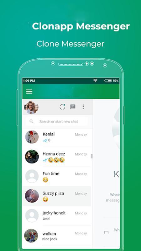 clonapp messenger 2019 apk