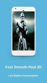 Clone Troopers Live Wallpaper screenshot 9