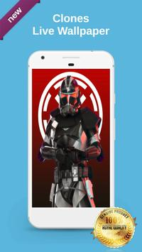 Clone Troopers Live Wallpaper poster