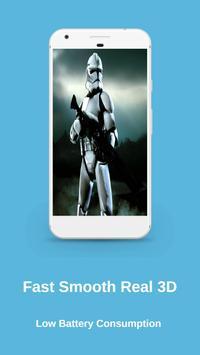 Clone Troopers Live Wallpaper screenshot 14