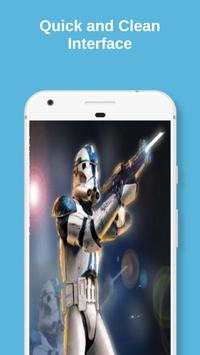 Clone Troopers Live Wallpaper screenshot 1