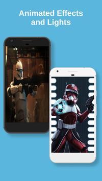 Clone Troopers Live Wallpaper screenshot 3
