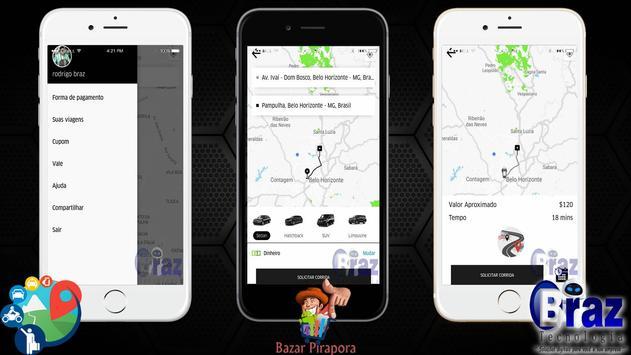 CloneUber Passageiro - Demo I9vando screenshot 1