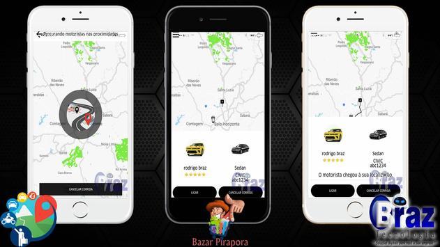 CloneUber Passageiro - Demo I9vando screenshot 2