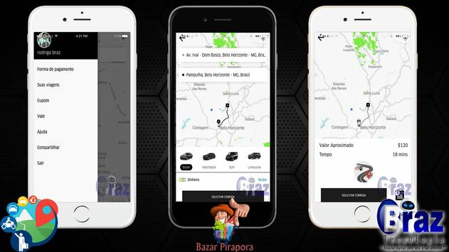 CloneUber Passageiro - Demo I9vando screenshot 6