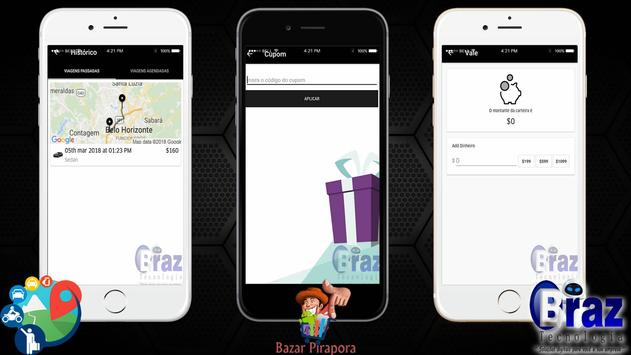 CloneUber Passageiro - Demo I9vando screenshot 9