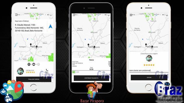 CloneUber Motorista - Demo I9vando screenshot 13