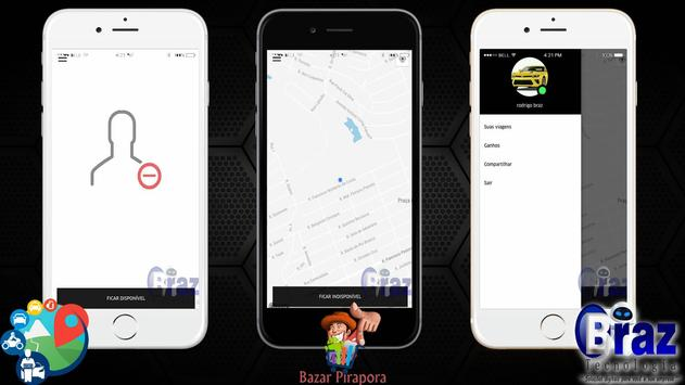 CloneUber Motorista - Demo I9vando screenshot 1