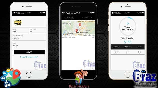 CloneUber Motorista - Demo I9vando screenshot 9