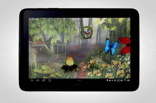Nature Clock Wallpaper screenshot 6