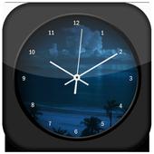 Night Clock Live Wallpaper icon