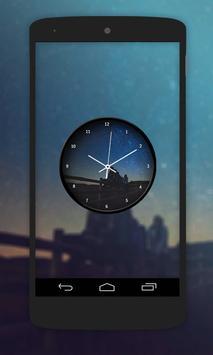 Night Clock Live Wallpaper poster