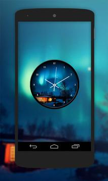 Night Clock Live Wallpaper apk screenshot