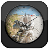 Rope Clock Live Wallpaper icon