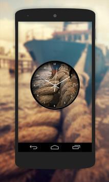 Rope Clock Live Wallpaper screenshot 3