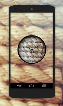 Rope Clock Live Wallpaper screenshot 2