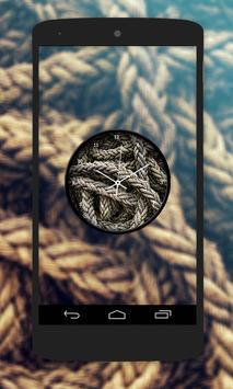 Rope Clock Live Wallpaper screenshot 4