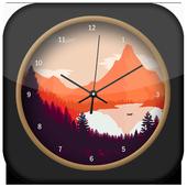 Nature Paint Clock Live Wallpaper icon