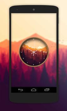 Nature Paint Clock Live Wallpaper screenshot 3