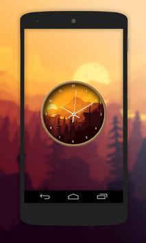 Nature Paint Clock Live Wallpaper screenshot 2