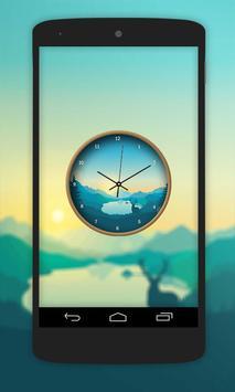 Nature Paint Clock Live Wallpaper screenshot 4