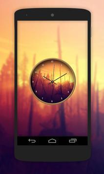 Nature Paint Clock Live Wallpaper screenshot 5