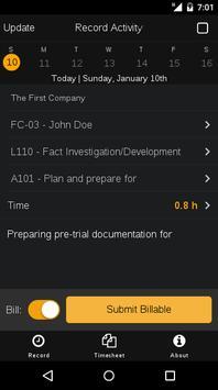 Clocked.Legal screenshot 2