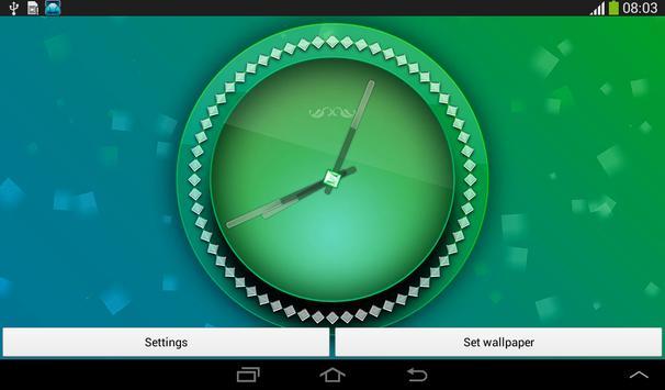 Pink Clock Live Wallpaper screenshot 15