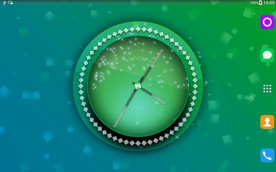 Pink Clock Live Wallpaper screenshot 6