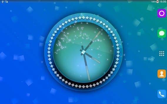 Pink Clock Live Wallpaper screenshot 8