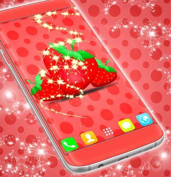Strawberry Clock LWP screenshot 2