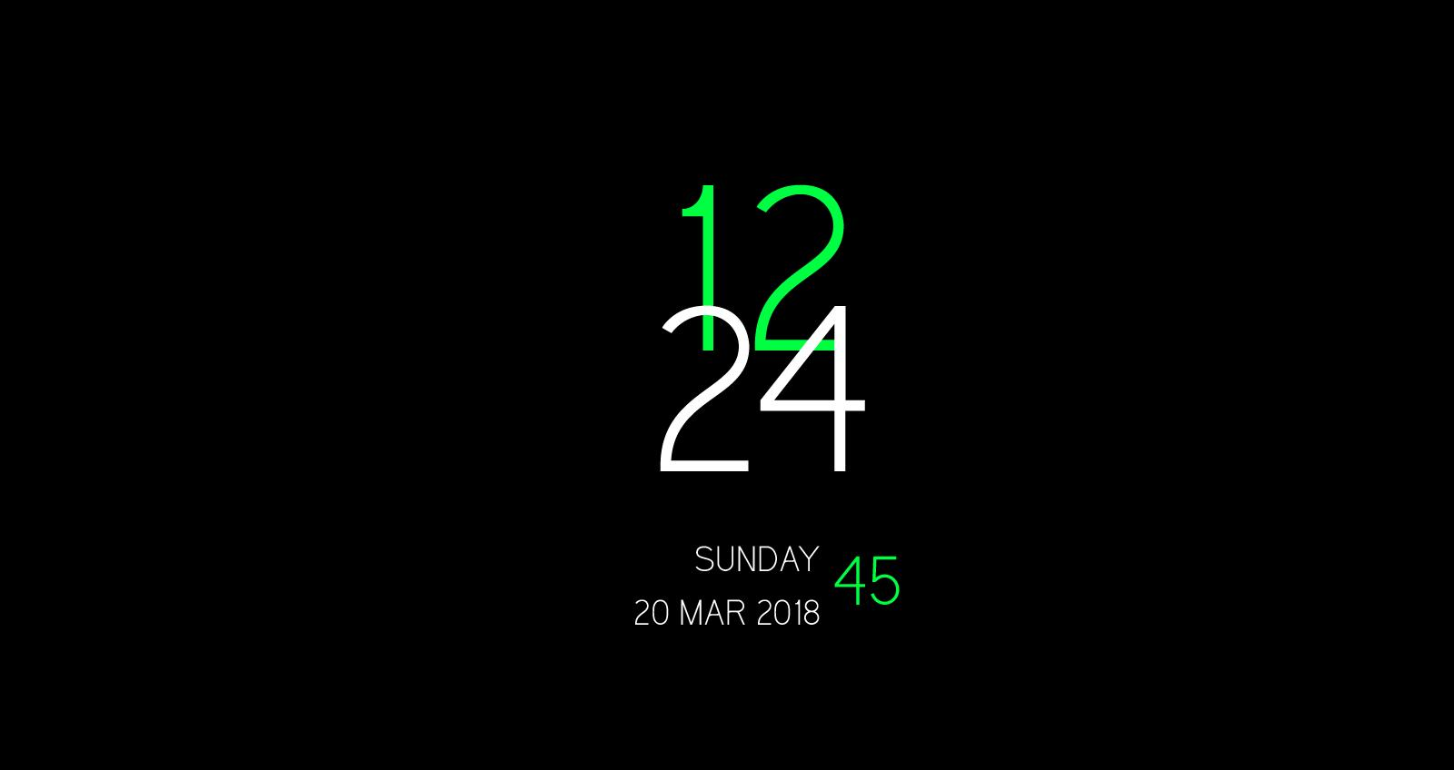 New Digital Clock Live Wallpaper for Android - APK Download