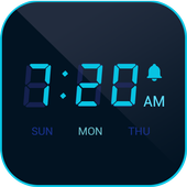 ikon Alarm Clock - Digital Clock, Timer, Bedside Clock