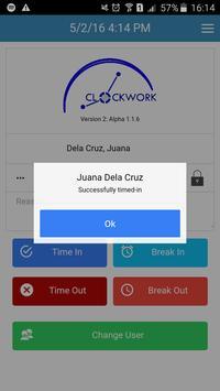 ClockWork screenshot 1