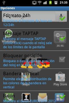 3D CLOCK LWP DEUTSCHLAND FLAG screenshot 1