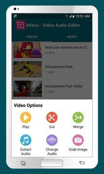AVbox - Video Audio Editor poster