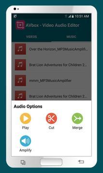 AVbox - Video Audio Editor apk screenshot